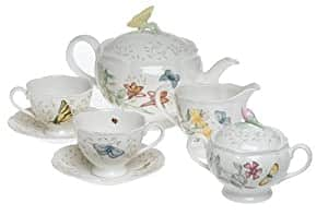 Lenox Butterfly Meadow 8-Piece Tea Set, Service for 2 $76.99