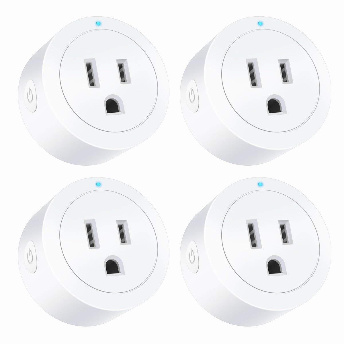 4-Pack Smart Outlet Mini Socket No Hub Required $26 17 - Slickdeals net