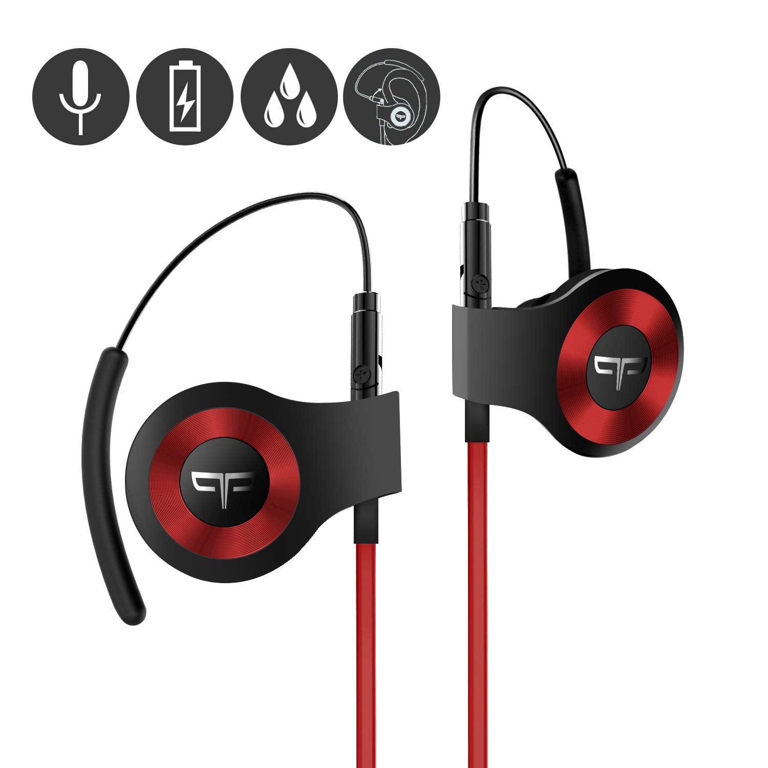Origem HS-3 Bluetooth Wireless Earphons with DSP Audio Algorithm and True Voice Recognition for $59.4 + Free  Shipping