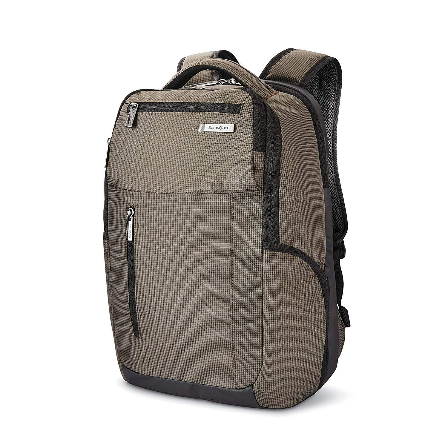 Samsonite Tectonic Lifestyle Crossfire Business Backpack, Green/Black - $29.39, free shipping w/ Prime