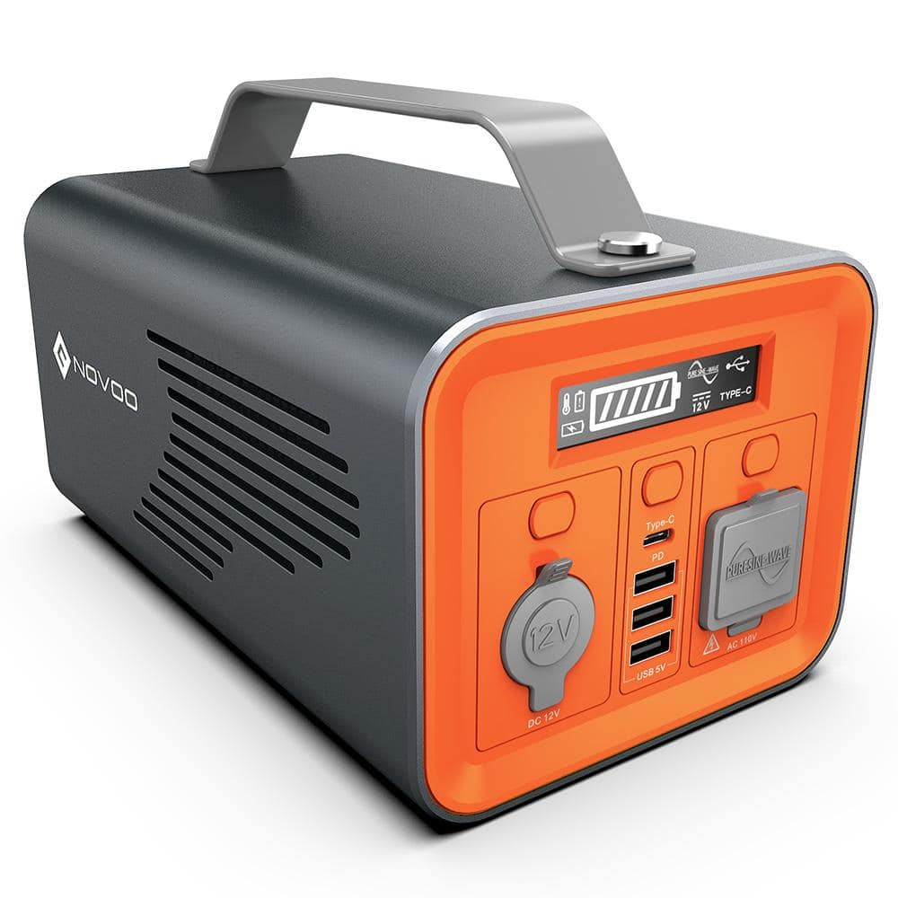 Portable Power Station, 230Wh Backup Power Emergency Supply, $115 AC