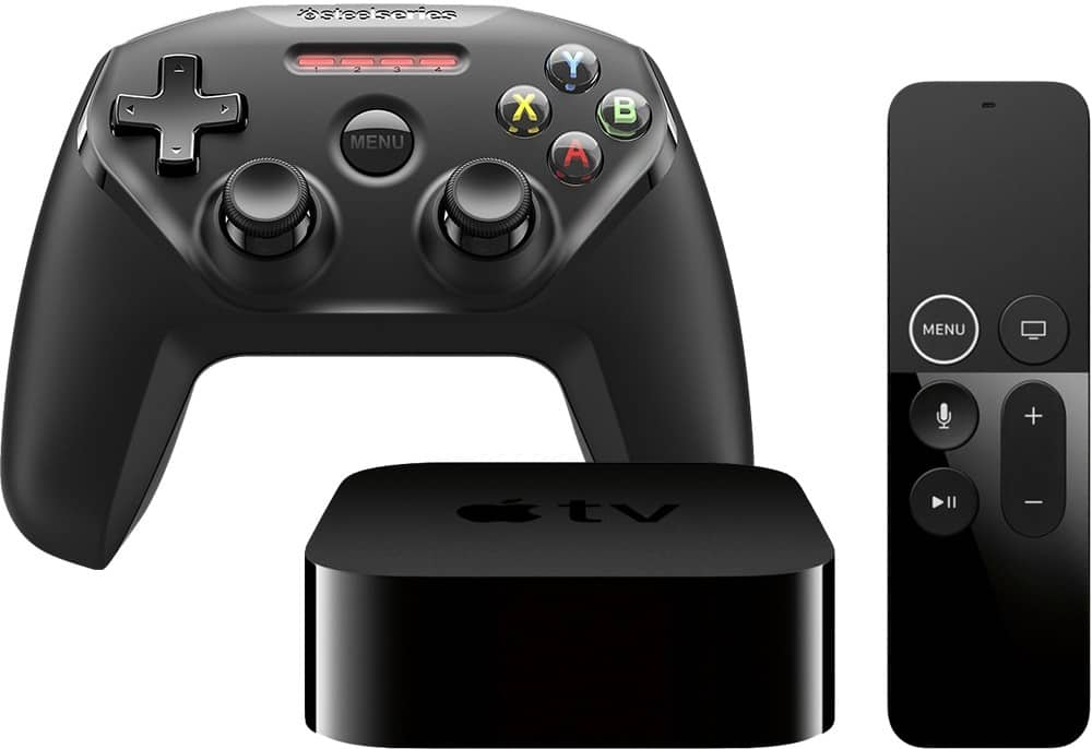 Apple - Apple TV 4K 32GB (Latest Model) with SteelSeries Nimbus Wireless Controller $199.98