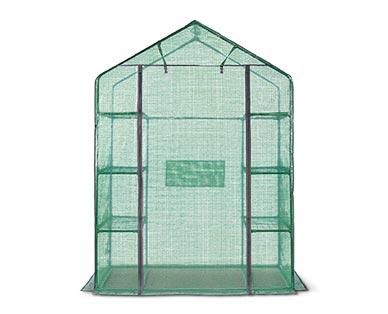 Aldi, Gardenline Walk-In Greenhouse, $39.99, in-store