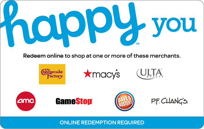$57.50 Happy You or Mom eGift Cards, $50 + 4X fuel points, Kroger Gift Cards