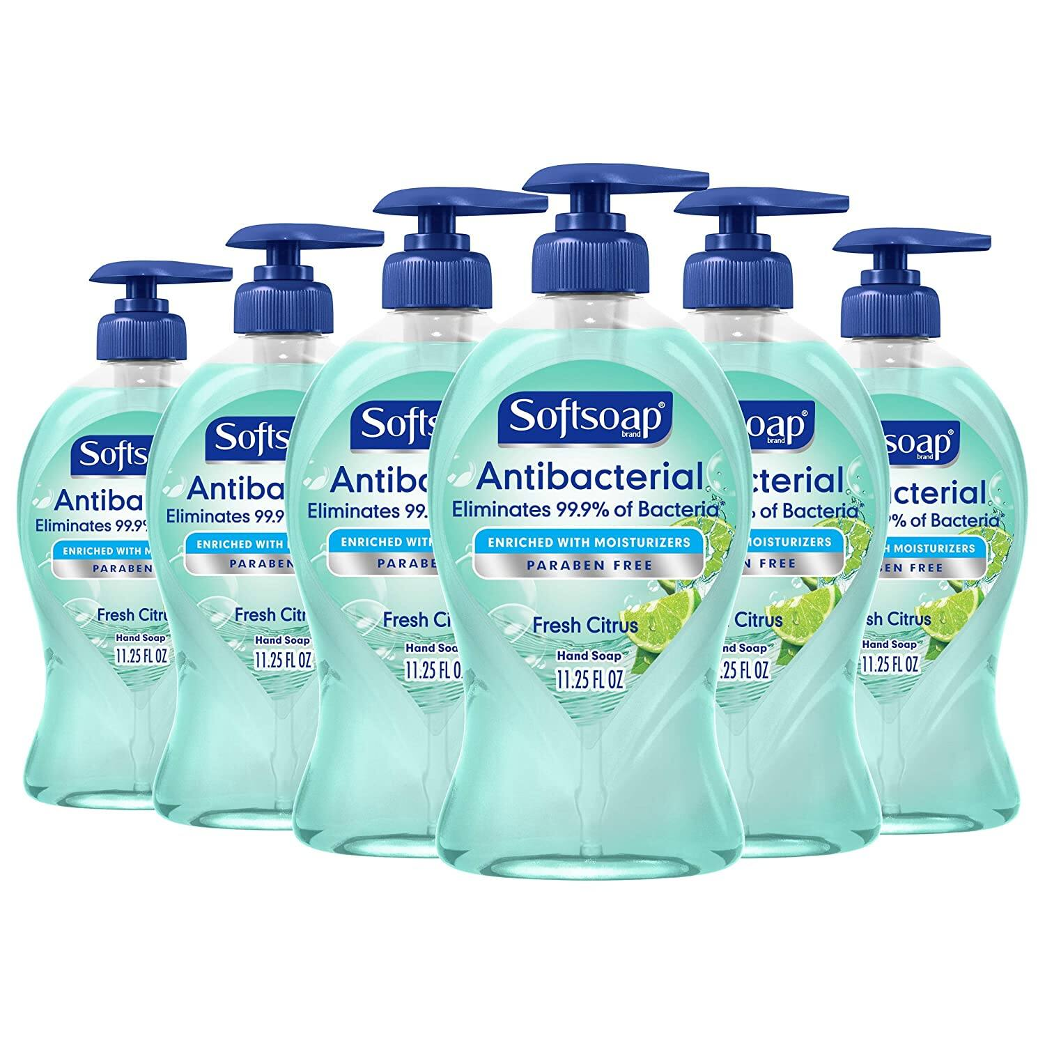 6 pack, 11.25 oz, Softsoap Antibacterial Liquid Hand Soap, (Fresh citrus, crisp clean, White tea & berry), $9.60 or lower with Subscribe and Save, Amazon