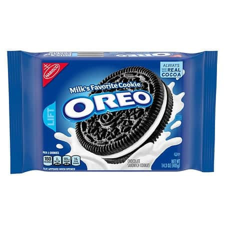 Walgreens, 7.9 to 15.35 oz Oreo  or Chips Ahoy cookies, $1.99