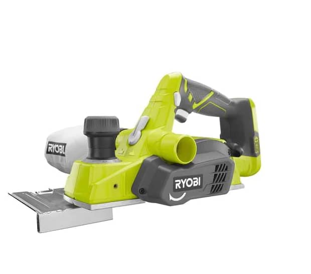 Ryobi ONE+ 18V Cordless  3-1/4 in. Planer Planer (tool only), $59, free shipping, Home Depot