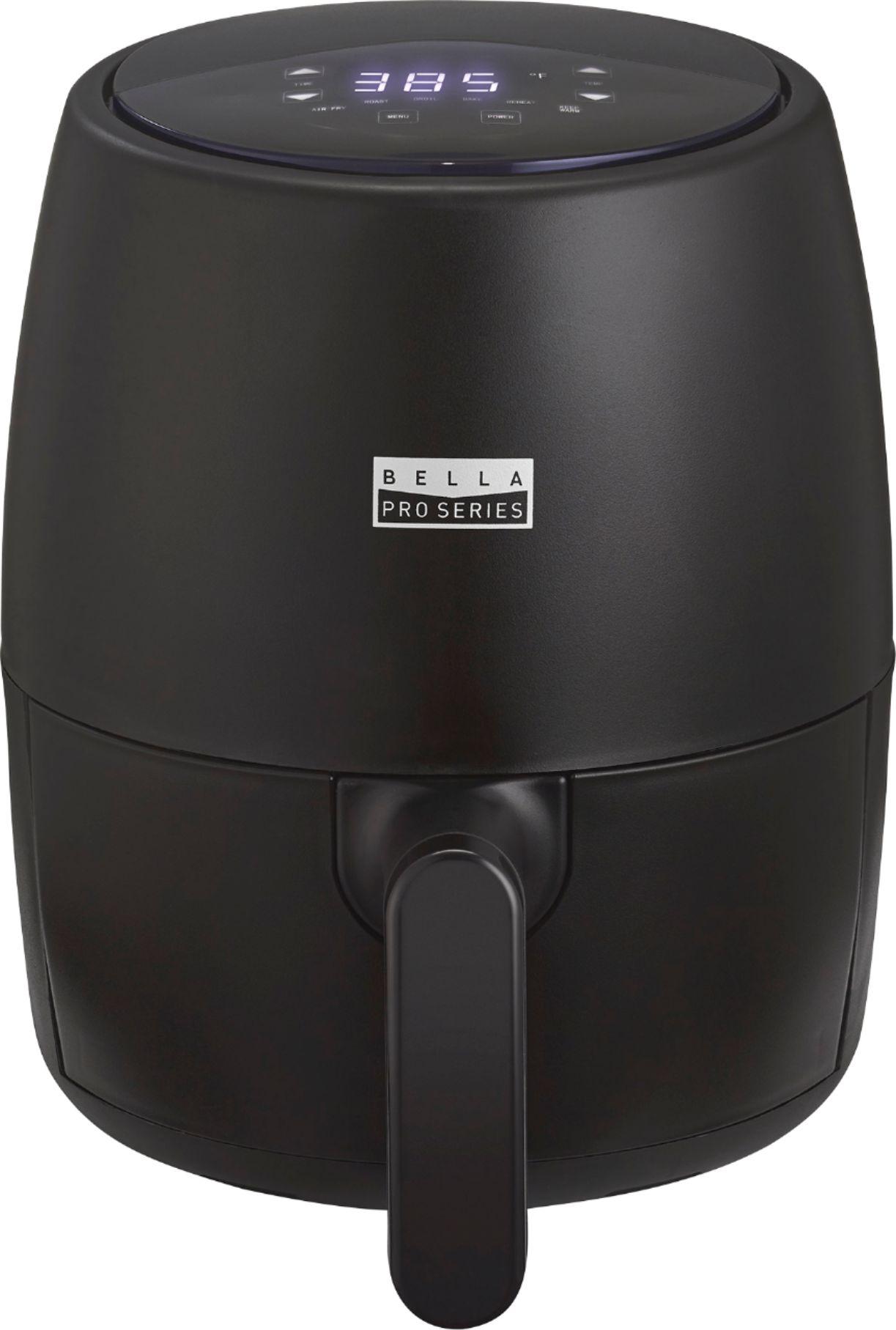 Bella Pro Series - 2-qt. Touchscreen Air Fryer - Black Matte, $19.99, free store pickup, Best Buy