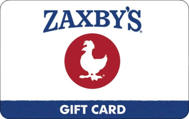 $25 Zaxby's e-Gift card, $20, $50 Old Navy eGift card, $40, $50 Buffalo Wild Wings, $42.50, Kroger Gift Cards