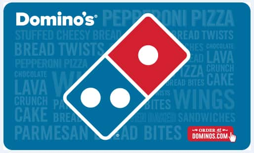 Paypal, $50 Domino's Pizza Gift Card for $42.50
