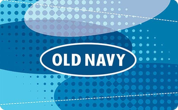 $50 Old Navy Gift Card, $40, Paypal