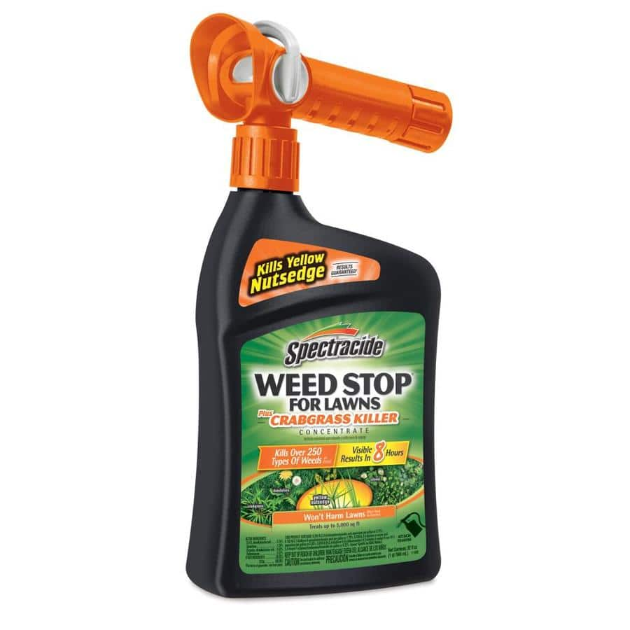 Spectracide Weed Stop For Lawns 32-fl oz Crabgrass Control, $5 at Lowe's, In store or Free shipping for My Lowe's members