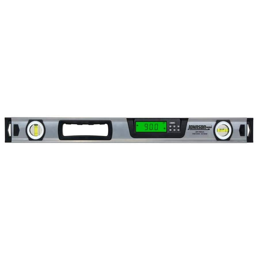 Lowe's  - 50% off Johnson Level 24-in Digital Display Box Beam Level, $69.98 or lower, Free Shipping or in store pickup (YMMV?)