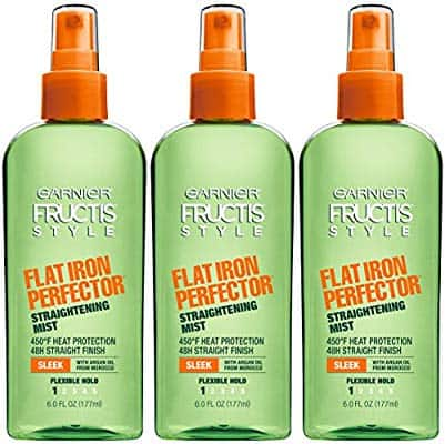 3 Pack  - Garnier Fructis Style Flat Iron Perfector Hair Straightening Mist, 6 Ounce Bottle, $7.62 after coupon at Amazon, free shipping for prime