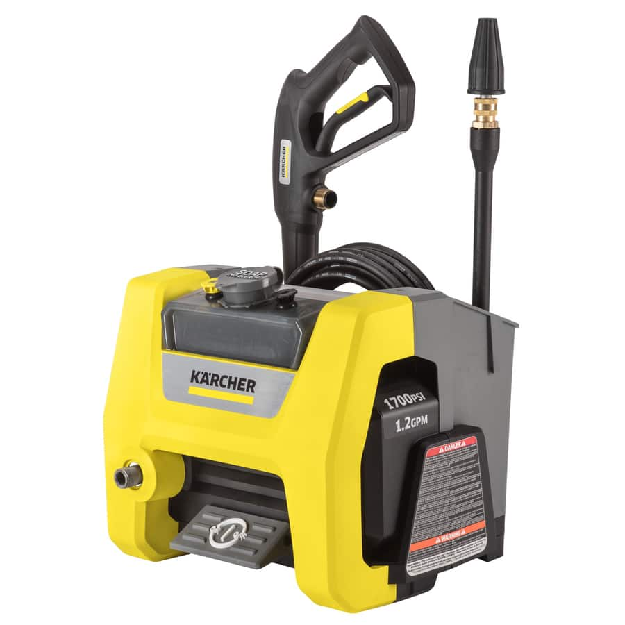 Karcher K1710 Cube 1700-PSI 1.2 GPM Cold Water Electric Pressure Washer, $99 at Lowe's, Free Shipping