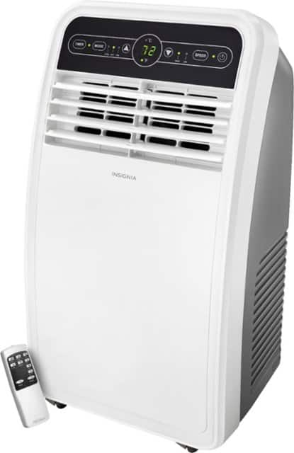 Insignia™ - 350 Sq  Ft  Portable Air Conditioner - $199 99 (or $180