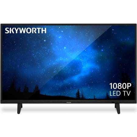 "Skyworth 40"" Class FHD (1080P) LED TV, $119.99, Free shipping at Walmart"
