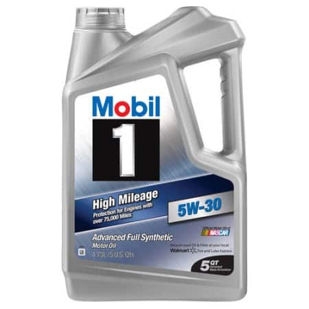 Mobil 1 synthetic oil 5qt Jugs, Various weights, Walmart, $19.99, or $8 after Mobil 1 rebate