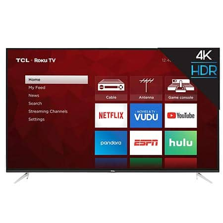 """Sam's Club Members : TCL 65"""" Class 4K UHD Roku Smart TV - 65S423, $439, free shipping for PLUS or free store pickup"""