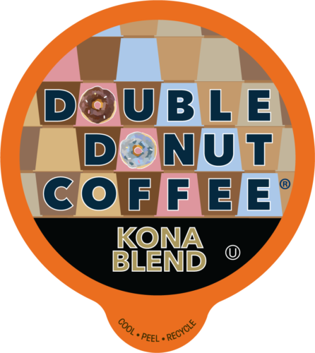 80 count Double Donut coffee K Cups, Bold, Breakfast, Espresso, House, Italian or Kona, $19.99, free shipping at ebay