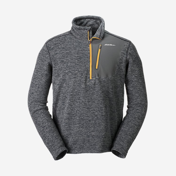Eddie Bauer Flash Sale, Cloudlayer Pro Fleece 1/4 zip $19.99