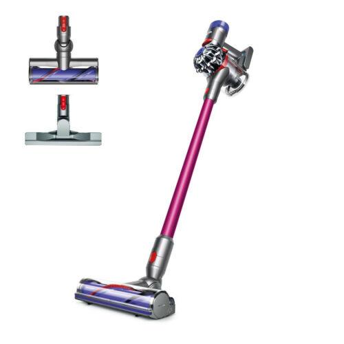 Dyson V7 Animal Cordless HEPA Vacuum with Bonus Tools, NEW, Fuschia color, $180.19 after coupon, free shipping, Dyson via ebay,