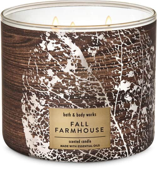 Bath & Body Works - Select 3-wick candles, $10.50, select hand soaps, $2.75, select body care, 75% off, plus $10 off $40 in store coupon