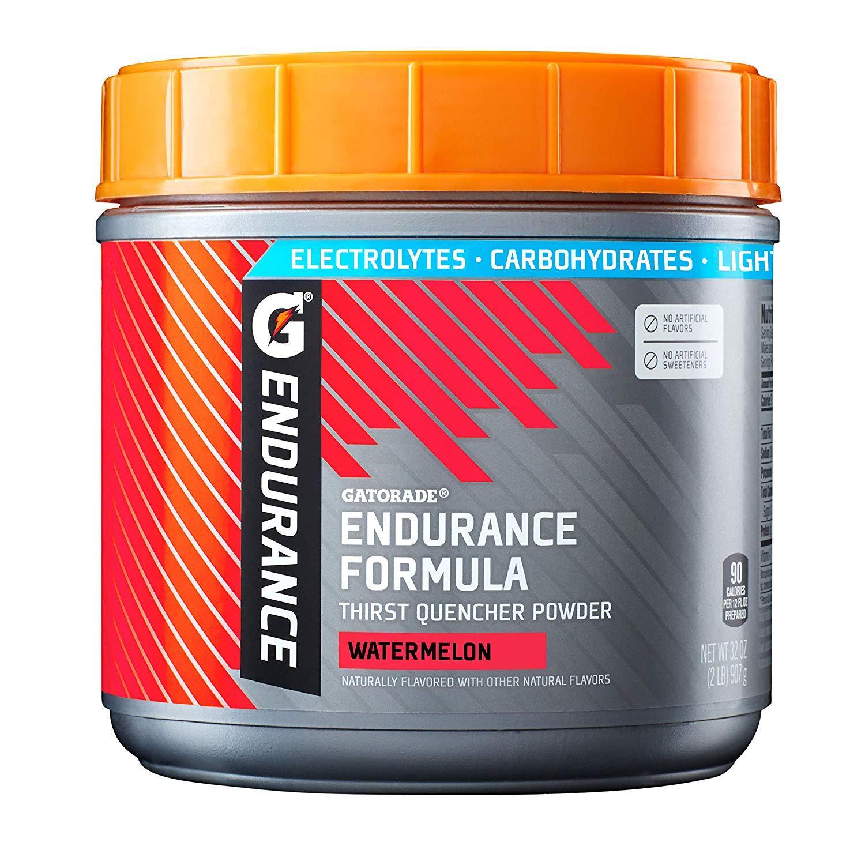 Gatorade Endurance Formula Powder, Watermelon, 32 Ounce, $11.64 W/ S&S ($10.41, 5+ items), Amazon