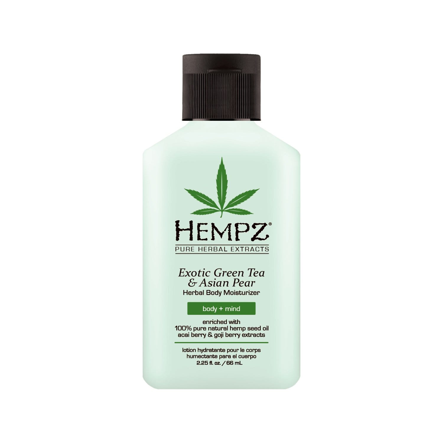 2.25 oz Hempz Exotic Natural Herbal Body Moisturizer with Pure Hemp Seed Oil, Green Tea and Asian Pear,  $2.04 with Subscribe and Save, Amazon