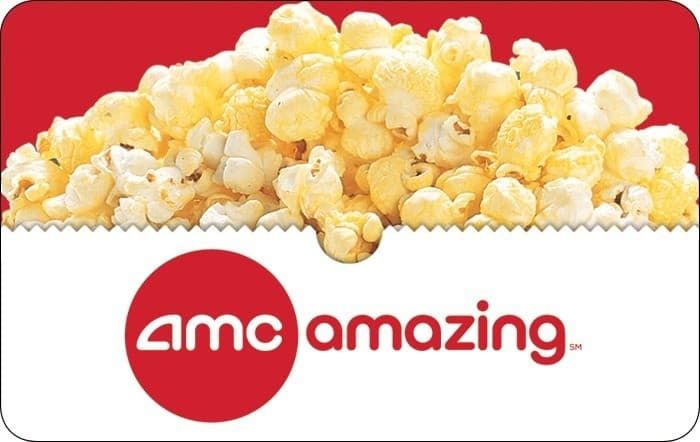 $50 AMC theatres e-gift card, $40, 4x fuel points, Kroger gift cards