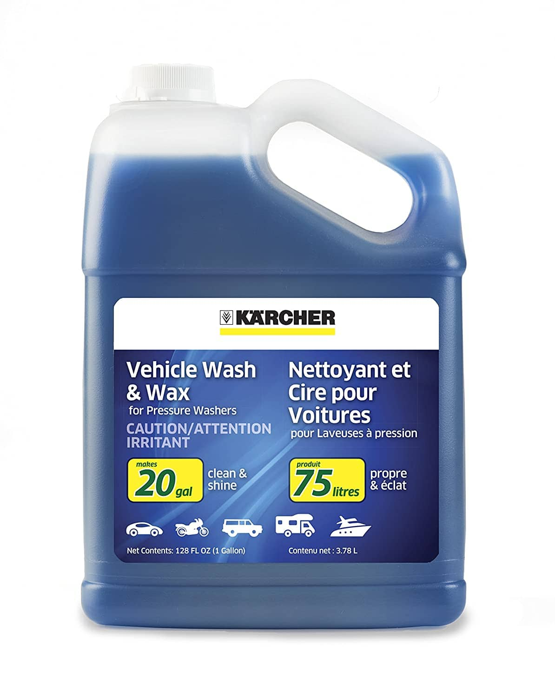 1 gallon Karcher Car Wash & Wax Soap for Pressure Washers, $12.98, Amazon