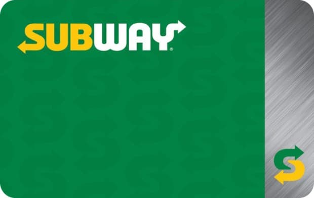 $50 Subway egift card, $40 + 4X fuel points, Kroger Gift Cards