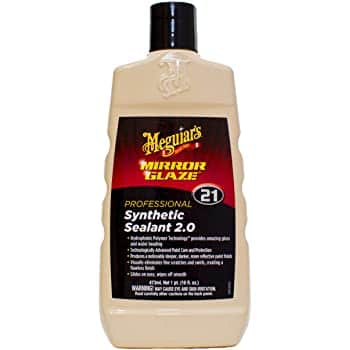 Meguiar's M2116 Mirror Glaze Synthetic Sealant 2.0, 16 Fluid Ounces, $13.50, Amazon