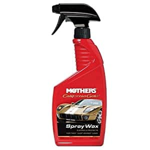 24 oz Mothers California Gold Spray Wax, $4.41 w/ S&S, Amazon