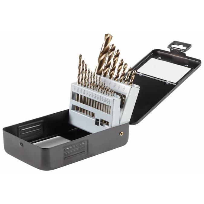 Bosch 21-Piece Assorted Gold Oxide Coated Twist Drill Bit Set, $9.98, free store pickup, Lowe's