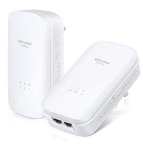 TP-LINK AV1000 2-Port Gigabit Powerline Adapter, Up to 1000Mbps (TL-PA7020 KIT) - $43.12 AC