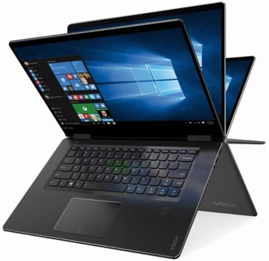 "Lenovo Yoga 710 2-in-1 15.6"" Touch Screen Laptop Intel Core i5 (Black) $599.99 @bestbuy.com"