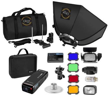 Flashpoint eVOLV 200 TTL Pocket Flash Exclusive HexaPop Kit $352.00