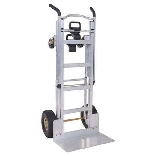 Cosco 3-in-1 Aluminum Hand Truck/Assisted Hand Truck/Cart w/ flat free wheels 12312ABL1E, Sold and Shipped through Amazon $99.99
