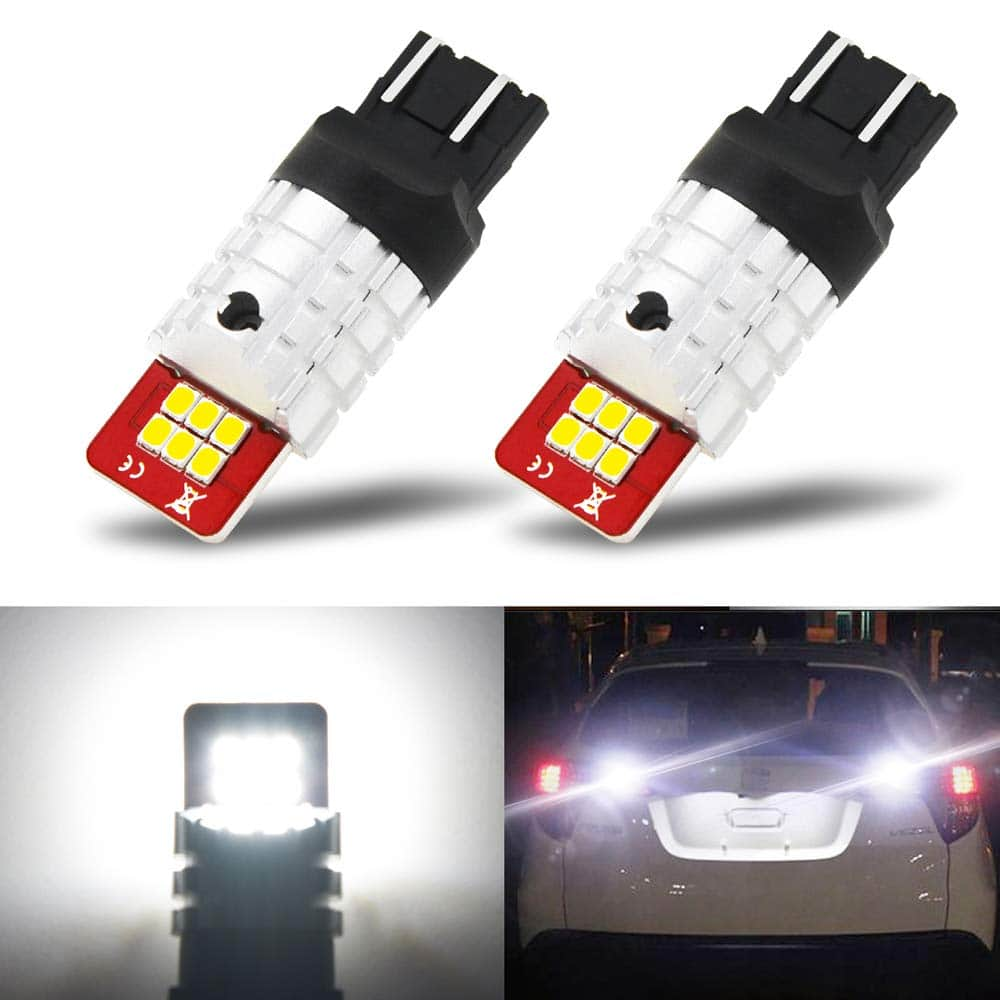 AUXITO 7440 7443-LED bulbs with Super Bright 2835 LED Chips 6000K White $6.99
