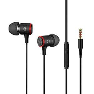 Bass Stereo Sound Sport Headphones In-line Microphone & Volume Control $4.99