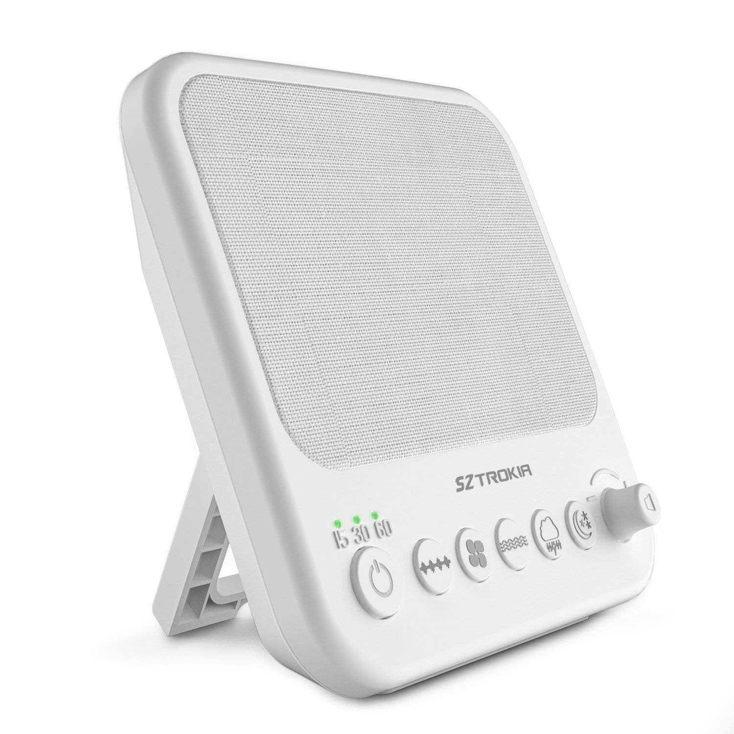 SZTROKIA White Noise Machine,Sound Sleep Therapy for Home,Office,Baby - Amazon $18.74