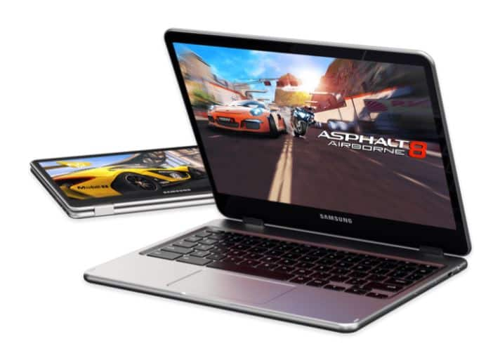 Get $20 Google Play credit with purchase of a Samsung Chromebook Plus or Pro.