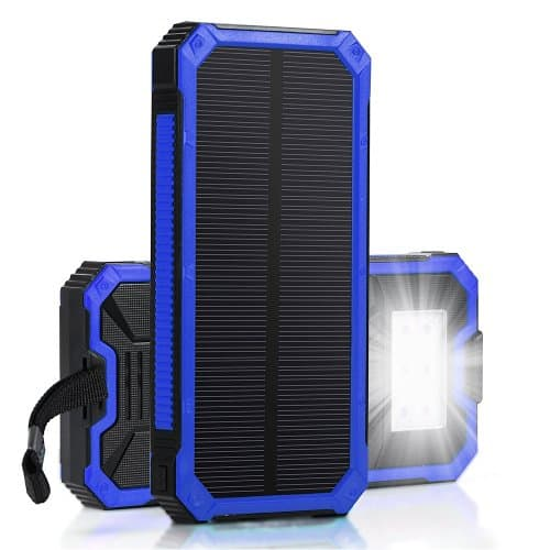 15000mah Solar External Battery Charger with 6LED Flashlights $14.99AC