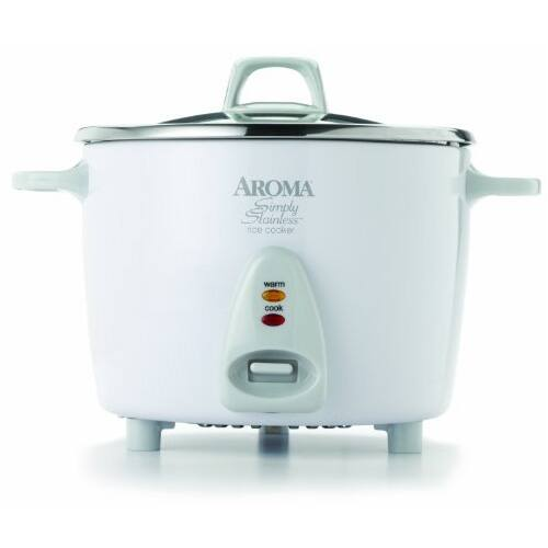 Aroma Professional 14 Cup Simply Stainless Pot Style Rice Cooker with free shipping on Walmart.com $36.99
