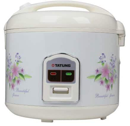 TATUNG TRC-10DC White 10 Cups Rice Cooker on Newegg with free shiping $20.99