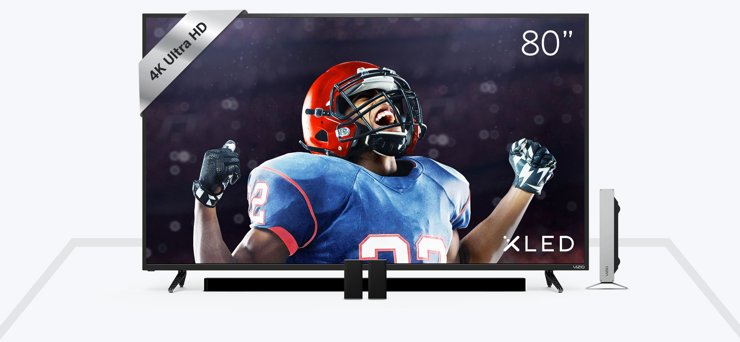 "VIZIO.COM 65""- 80"" 4K HDR Displays + 5.1 Sound Bar Bundle up $850 off (ends on 9/10)"