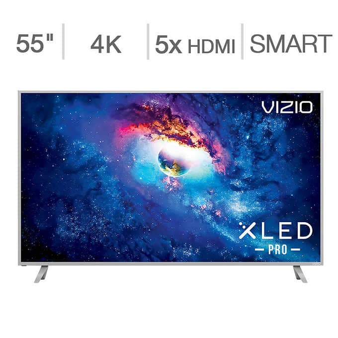 VIZIO P55-E1 $799 M75-E1 $1999 on sale at COSTCO.COM 10/5-10/11