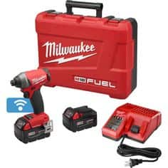 M18 One-Key Impact Driver + 2 5.0 Batteries (Reconditioned) $190.96