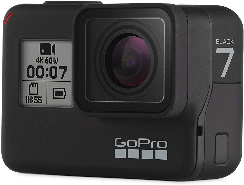 GoPro Hero 7 Black + free 32gb SD Card (SanDisk Extreme 32GB microSDHC) + free 2 day shipping $229.99
